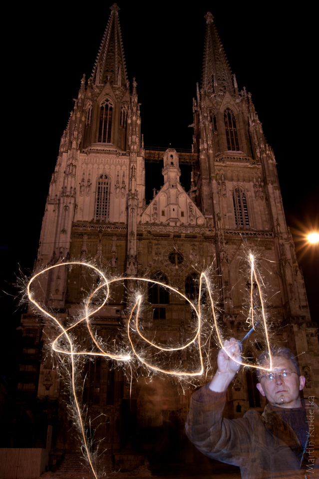 Happy new year 2011 from Regensburg